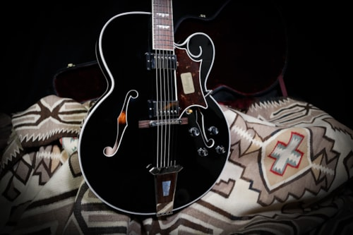 2017 Gibson Custom Shop Crimson Series Tal Farlow Black