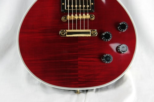 2017 Gibson Custom Shop Les Paul Modern Axcess WINE RED Gold FLAMETOP!