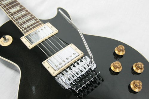 2017 Gibson Custom Shop Modern Les Paul Axcess Standard Floyd Rose Gun Metal Gray