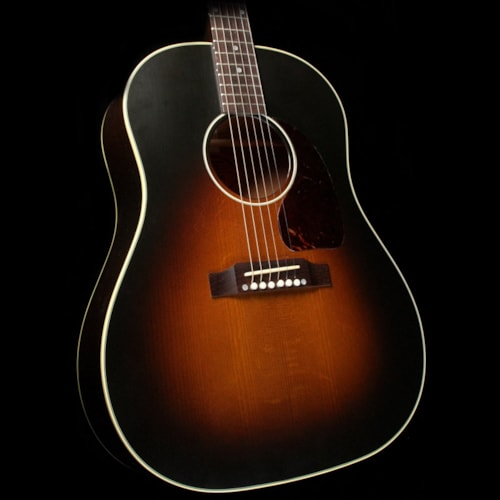 2017 Gibson Used 2017 Gibson J-45 Vintage Dreadnought Acoustic Guitar Vintage Sunburst VOS Excellent, $3,299.00