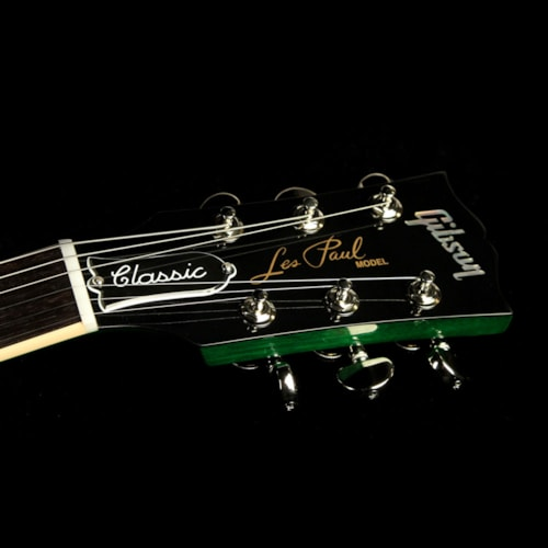 2017 Gibson Used 2017 Gibson Les Paul Classic T Electric Guitar Green Ocean Burst Excellent, $1,299.00