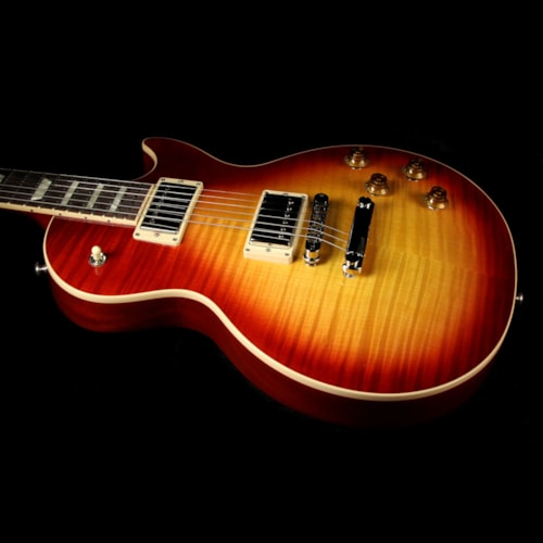 2017 Gibson Used 2017 Gibson Les Paul Standard T Electric Guitar Heritage Cherry Sunburst Excellent, $1,799.00