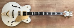 2017 Gretsch G6136B-TP-AWT Tom Petersson Signature Falcon 4-String Bass