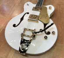 2017 Gretsch G6636T Players Edition White Falcon Center Block