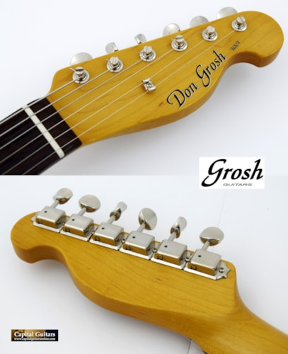 2017 Grosh NOS Vintage T Blonde Transparent