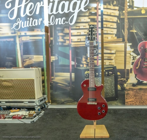 2017 Heritage H137 Cherry Translucent, Brand New, Original Hard