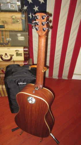 2017 Journey OF420 Overhead Electric Acoustic Travel Guitar Natural, Mint, Original Soft, $599.00