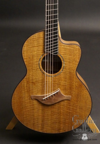 2017 Lowden Custom S-35MCFF All Fiddleback Mahogany, Brand New, Original Hard, Call For Price!