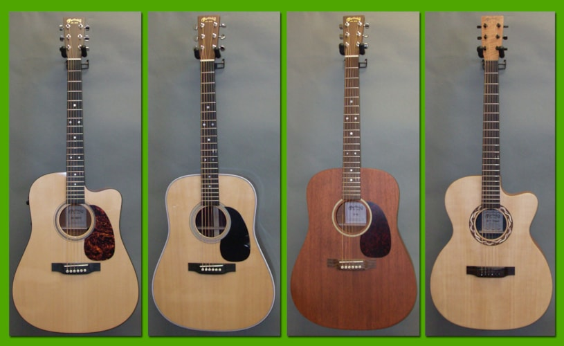 2017 Martin Many to choose from Brand New, Original Hard, Call For Price!