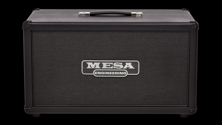 "2017 Mesa Boogie 2x12"" Rectifier Compact Guitar Cabinet Black, Brand New"