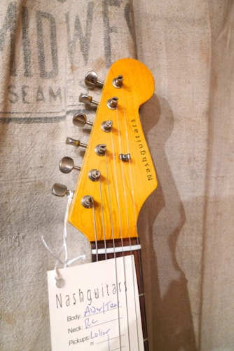 2017 Nash S-63 Stratocaster® (1963 Reissue) Ice Blue Metallic, Brand New, Original Hard, $1,960.00