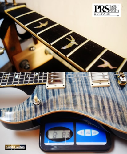 "2017 Paul Reed Smith McCarty 594 ""10 Top"" Faded Whale Blue"