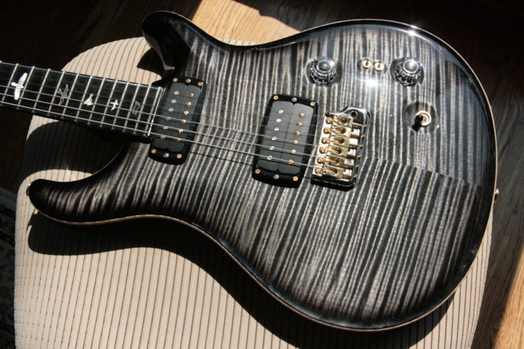 2017 Paul Reed Smith PRS Private Stock 408 Signature! Paul Reed Smith INCREDIBLE TOP! African Blackwood Charcoal Smoked Burst Excellent $5,750.00