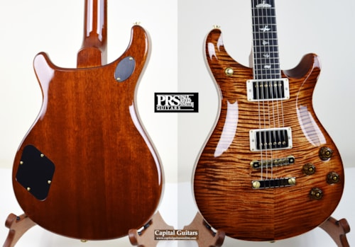 2017 PRS McCarty 594 10-Top Copperhead Burst, Near Mint, Original Hard