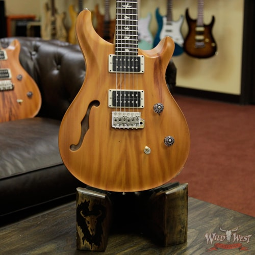 2017 PRS - Paul Reed Smith PRS Reclaimed Limited CE 24 Semi-Hollow Peroba Rosa Top and Brauna Preto Fretboard 238315 Natural, Brand New, $1,599.00