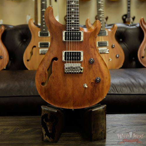 2017 PRS - Paul Reed Smith PRS Reclaimed Limited CE 24 Semi-Hollow Peroba Rosa Top and Brauna Preto Fretboard 237729 Natural, Brand New, $1,599.00