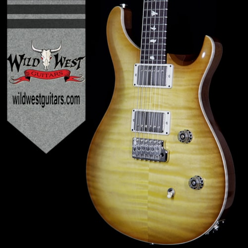 2017 PRS - Paul Reed Smith PRS Wild West Guitars Special Run CE 24 Flame Maple Top and 57/08 PU Livingston Lemondrop 238567 Livingston Lemondrop, Brand New