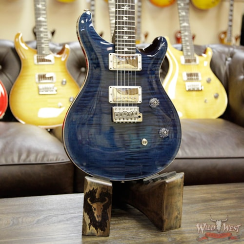 2017 PRS - Paul Reed Smith PRS Wild West Guitars Special Run CE 24 Flame Maple Top and 57/08 PU Whale Blue 238562 Whale Blue, Brand New, $1,899.00