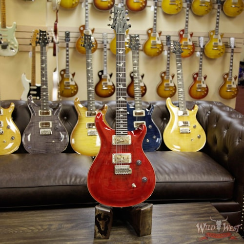 2017 PRS - Paul Reed Smith PRS Wild West Guitars Special Run CE 24 Flame Maple Top and 57/08 PU Ruby 238038 Ruby, Brand New, $2,099.00