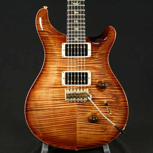 2017 PRS (Paul Reed Smith) Custom 24 Artist Package, Flame Maple Neck Antique Brown, Brand New, Original Hard, $4,900.00
