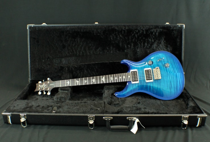 2017 PRS (Paul Reed Smith) Custom 24 Custom Color Blue Burst Wrap, Brand New, Original Hard, $3,390.00
