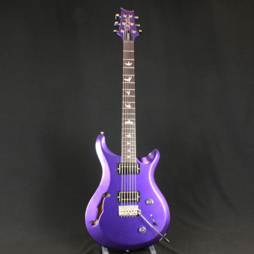 2017 PRS (Paul Reed Smith) S2 Custom 22 Semi-Hollow Color of the Month Firemist Purple, Brand New, Original Soft, $1,679.00
