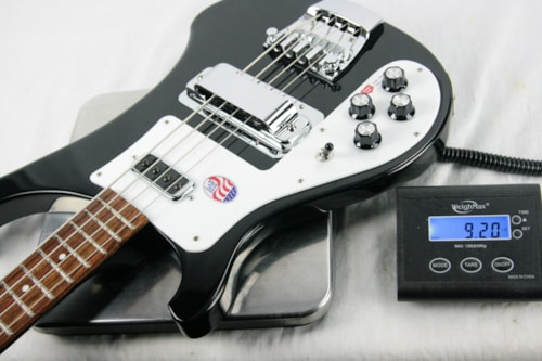 2017 Rickenbacker 4003s Left-Handed JETGLO Bass! Paul McCartney Beatles 4001 4003 LH Black