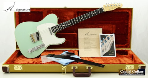 2017 Ron Kirn Signature Telecaster Custom Sea Foam Green