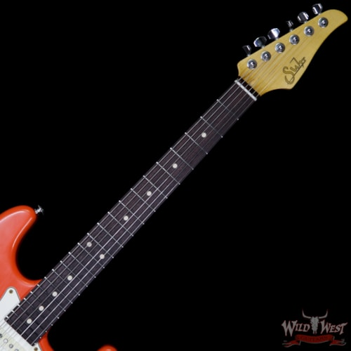 2017 Suhr Limited Classic Antique Pro HSS Rosewood Fretboard Fiesta Orange over 3 Tone Burst Fiesta Orange over 3 Tone Burst, Brand New, $2,799.00