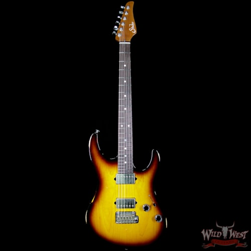 2017 Suhr Modern Antique HH Roasted Maple Neck Rosewood Fretboard Two Tone Tobacco Burst 2 Tone Tobacco Sunburst, Brand New, $3,399.00