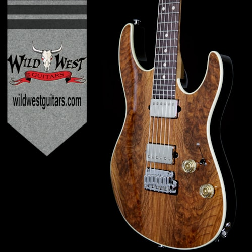 2017 Suhr Modern HH Guatamalan Rosewood Top Basswood Body Roasted Birdseye Maple Neck Natural Natural, Brand New, $4,999.00