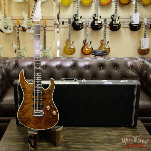 2017 Suhr Modern HSH Guatamalan Rosewood Top Basswood Body Roasted Birdseye Maple Neck Natural Natural, Brand New, $4,299.00
