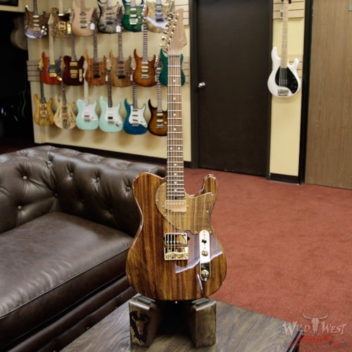 2017 Suhr Suhr Custom Classic T Monkey Pod Prototype Natural, Brand New, $4,299.00