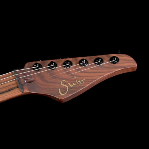 2017 Suhr Used 2017 Suhr Standard Waterfall Burl Maple Top Electric Guitar Pink Algae Excellent, $4,499.00