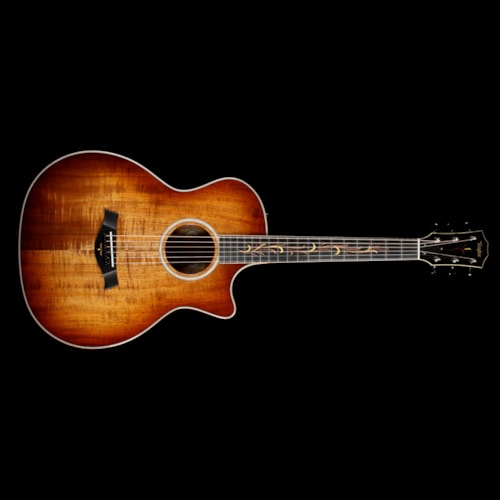 2017 Taylor Fall 2017 LTD K24ce 12-Fret Grand Auditorium Acoustic Guitar Shaded Edgeburst Excellent, $3,459.00
