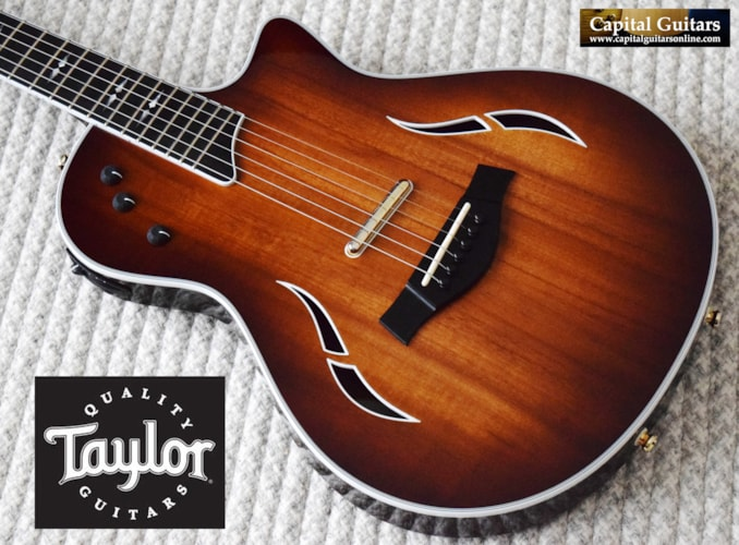 2017 Taylor T5z Custom Koa  with Upgraded Gotoh 510 Tuners, Shaded Edge Burst