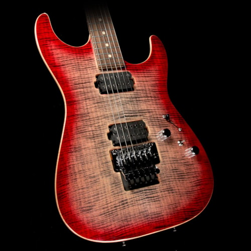 2017 Tom Anderson Used 2017 Tom Anderson Guitarworks Drop Top Electric Guitar Natural Black to T-Red Burst Excellent, $3,199.00