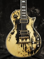 2018 10S GF Old Black Heavy Relic Single Cut Guitar