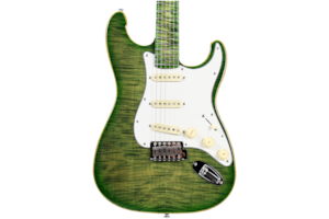 2018 10S ICC Custom Lizard Drop Top Electric Guitar (2018 Reissue)