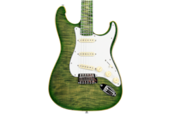 2018 10S ICC Custom Lizard Drop Top Electric Guitar
