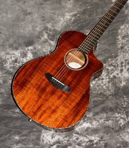 2018 Breedlove Pursuit Exotic Koa Natural Gloss, Brand New, GigBag, $1,049.00