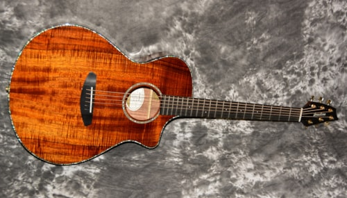 2018 Breedlove Pursuit Exotic Koa Natural Gloss, Brand New, GigBag