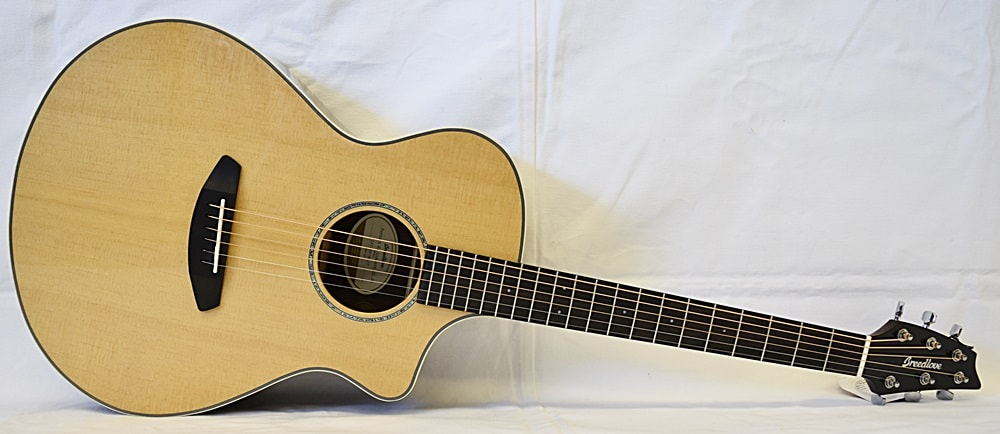Breedlove Pursuit Exotic Ziracote