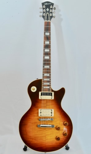 2018 Brian Monty Bluesmaster CUSTOM Tobacco Burst, Excellent, $3,199.00
