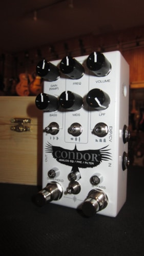 2018 Chase Bliss Condor Analog EQ/Pre/Filter White, Brand New, Original Hard