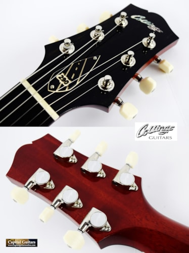 2018 Collings 290 DC Crimson