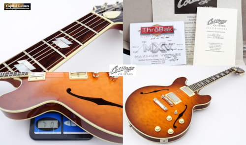 2018 Collings I-35 Deluxe Quilt Top with ThroBaks Iced Tea