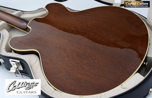 2018 Collings I-35 with ThroBaks Candy Apple Red