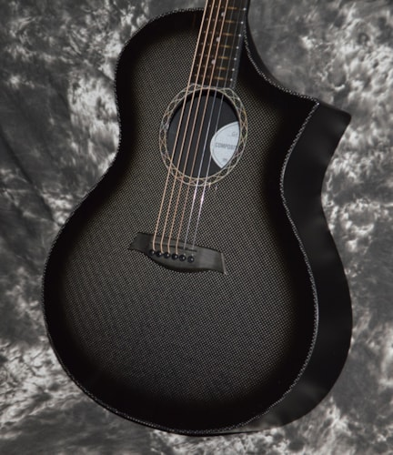 2018 Composite Acoustics GX Carbon Burst, Brand New, Hard