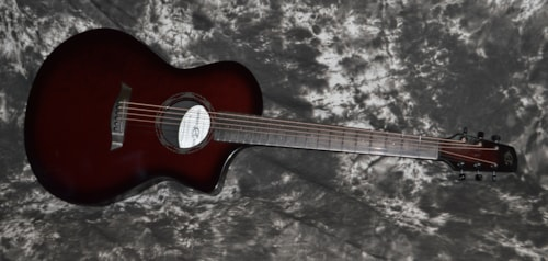 2018 Composite Acoustics OX Translucent Red, Brand New, Soft